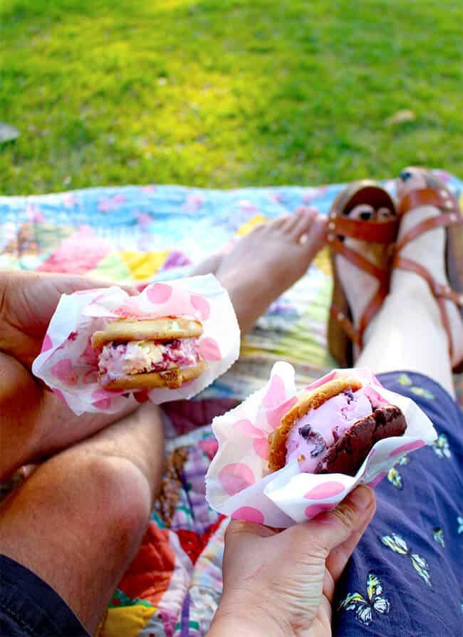 Ice Cream Sanwiches from Baskin Robbins