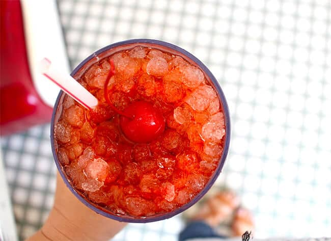 Johnny Rockets Cherry Coke
