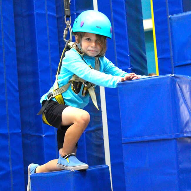 Kids Rock Climbing Classes in Orange County