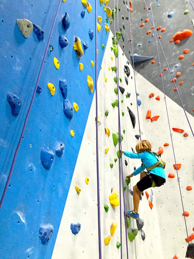 Orange County Kids Climbing classes