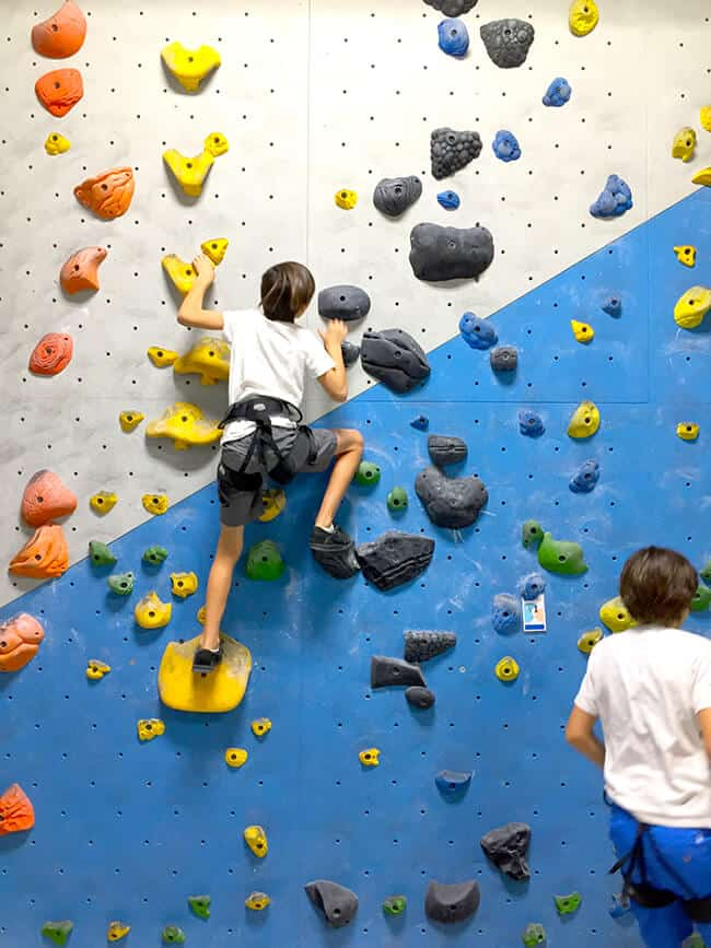 Orange County Kids Rock Climbing Lessons