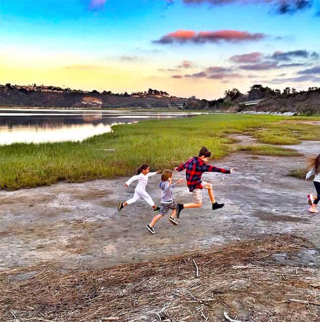 Running in the Wetlands