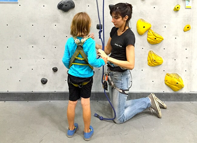 Safety at Sender One Indoor Rock Climbing
