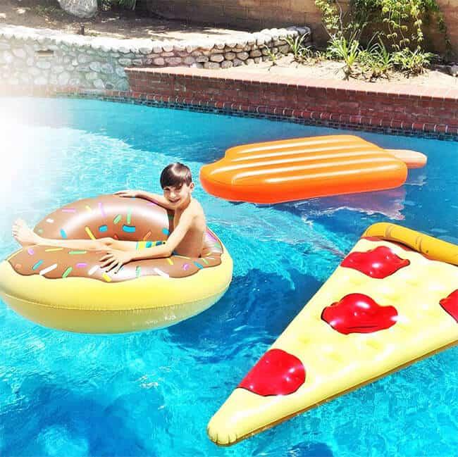 Swimming with fun Pool Floats