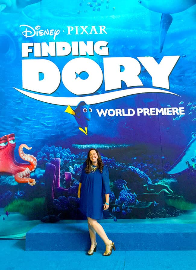 The Finding Dory World Premiere