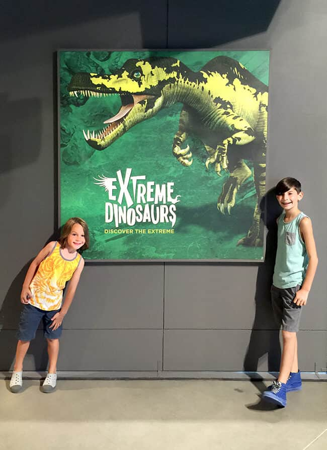 Extreme Dinosaurs at Discovery Cube Orange County