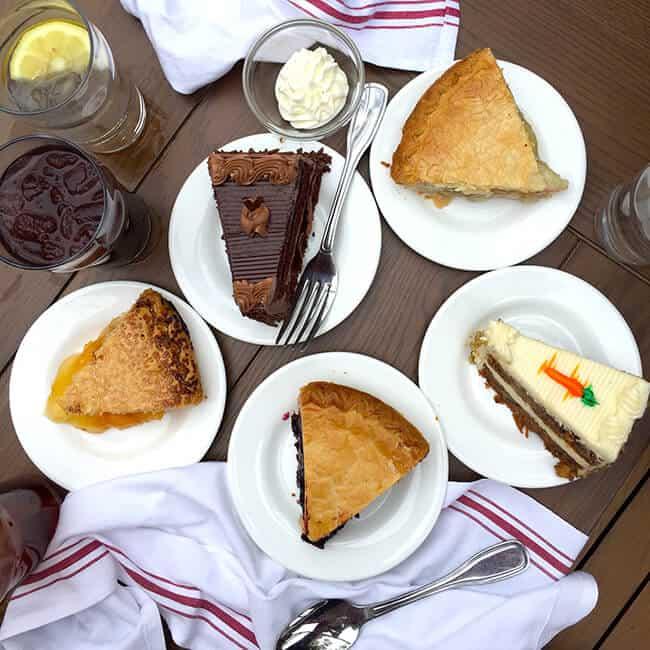 Knott's Chicken Dinner Restaurant Desserts
