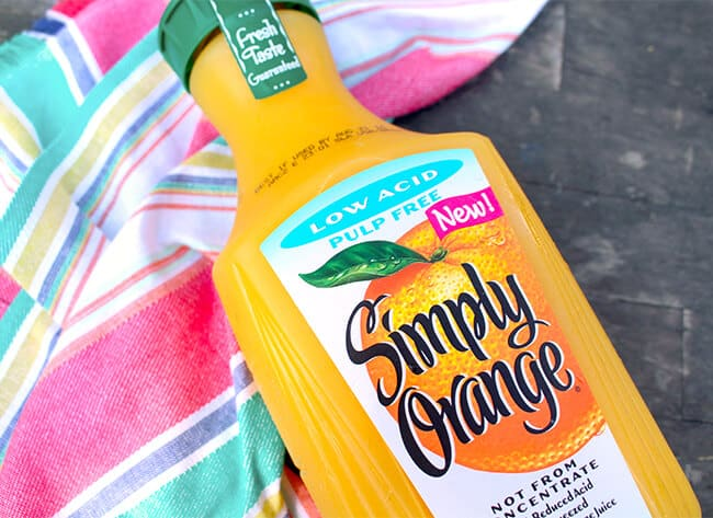 Simply Orange Low Acid Orange Juice