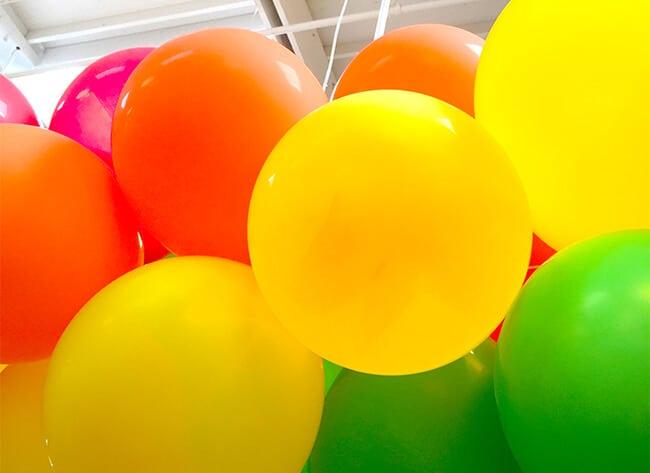 Balloons at Northgate Market Grand Opening