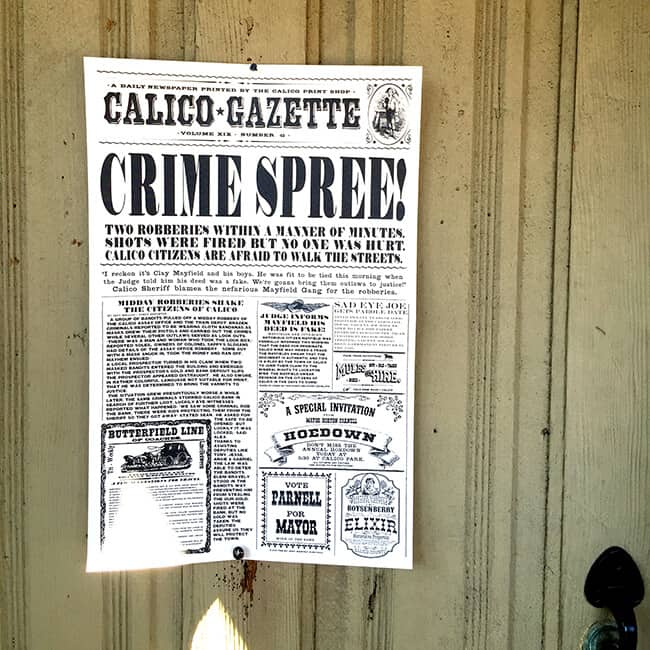 Calico Gazette