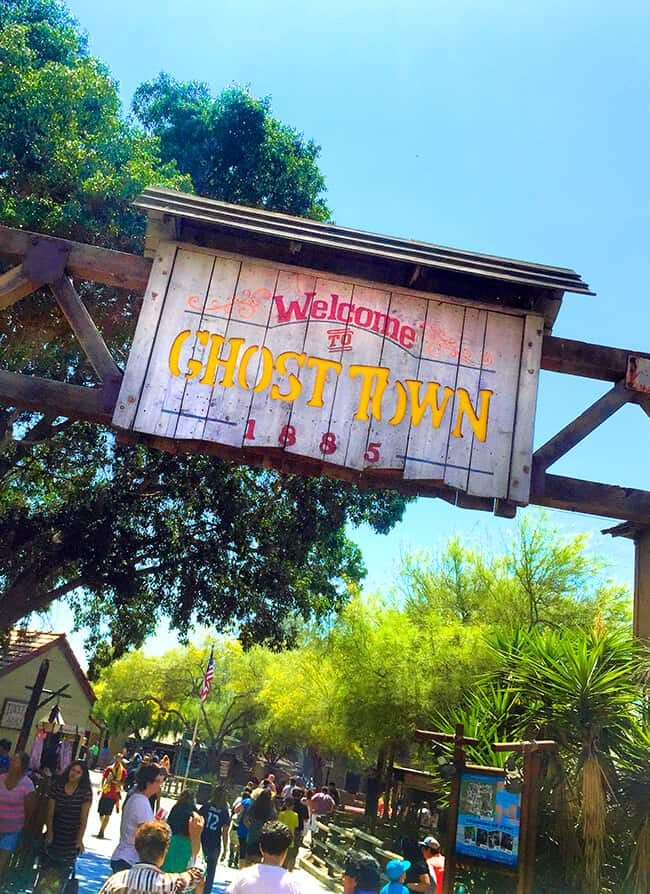 Knott's Ghost Town Celebration 75th Anniversary