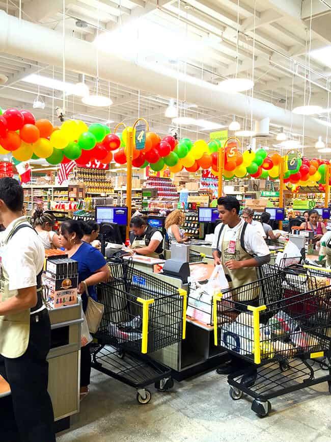 Northgate Market Checkout lines