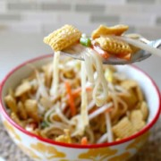 Yummy Pad Thai cereal - SandyToesandPopsicles.com
