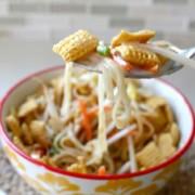 Yummy Pad Thai cereal - SandyToesandPopsicles.com