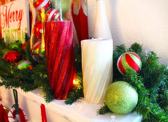 christmas-mantle-ideas