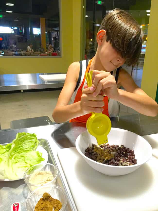 Kids Cooking Classes at Discovery Cube