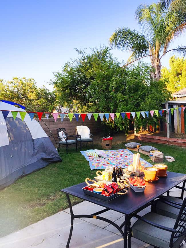 How to Have an Awesome Backyard Campout