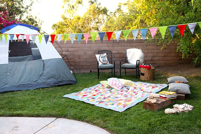 Fun Camping Party Ideas Popsicle Blog