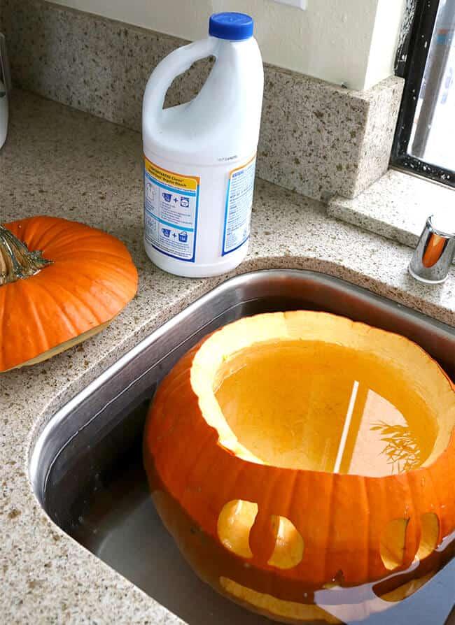 Making Your Carved Pumpkin Last Longer