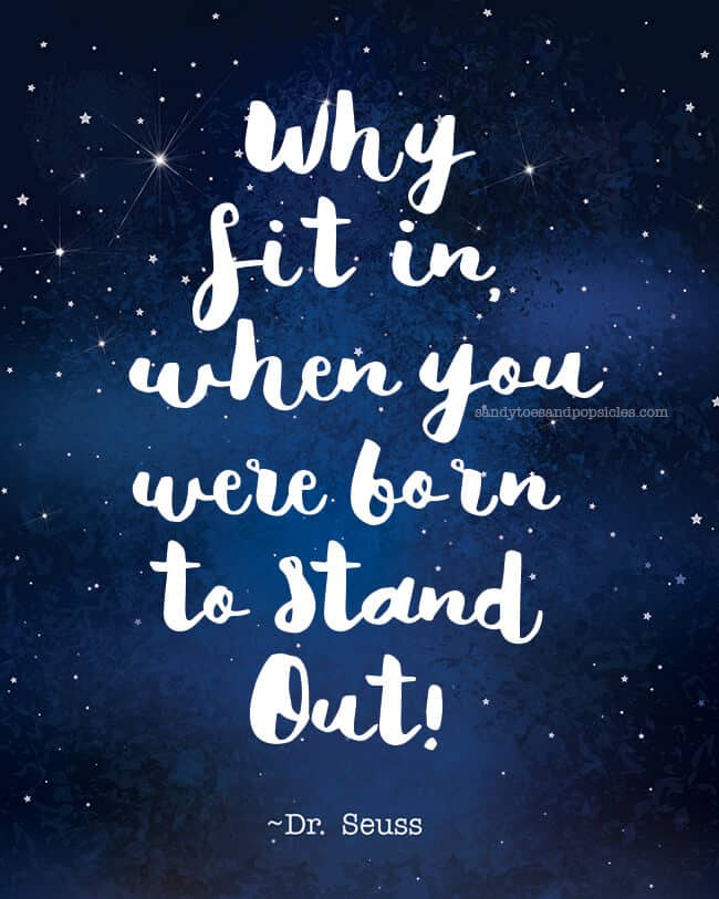 Born To Stand Out!