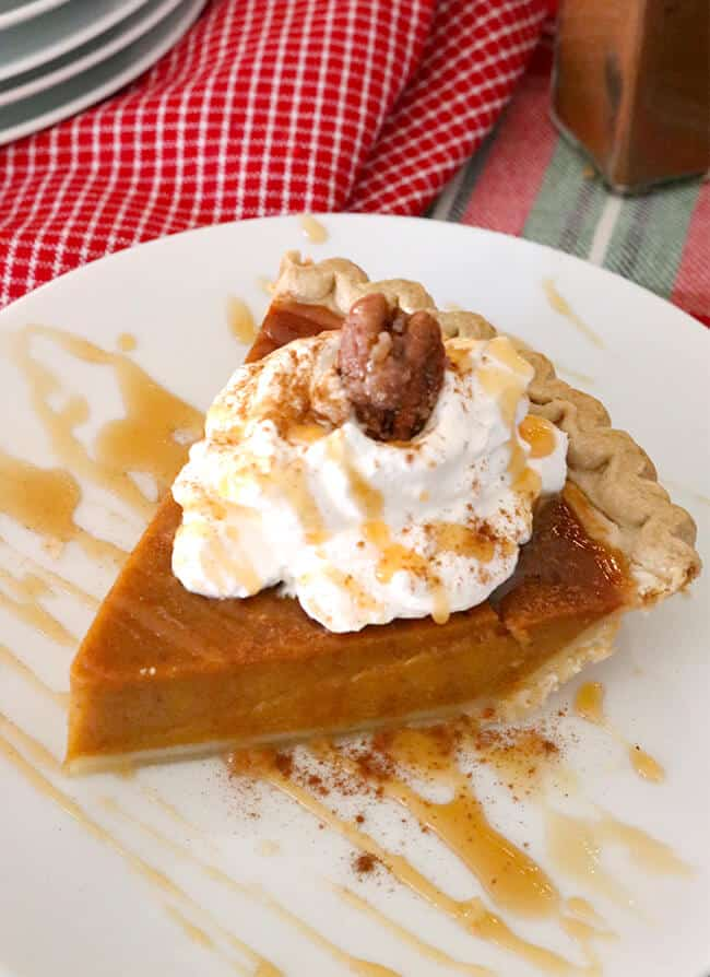 The Best Frozen Pumpkin Pie