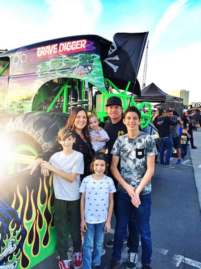 Oc Family Fun At Monster Jam Popsicle Blog
