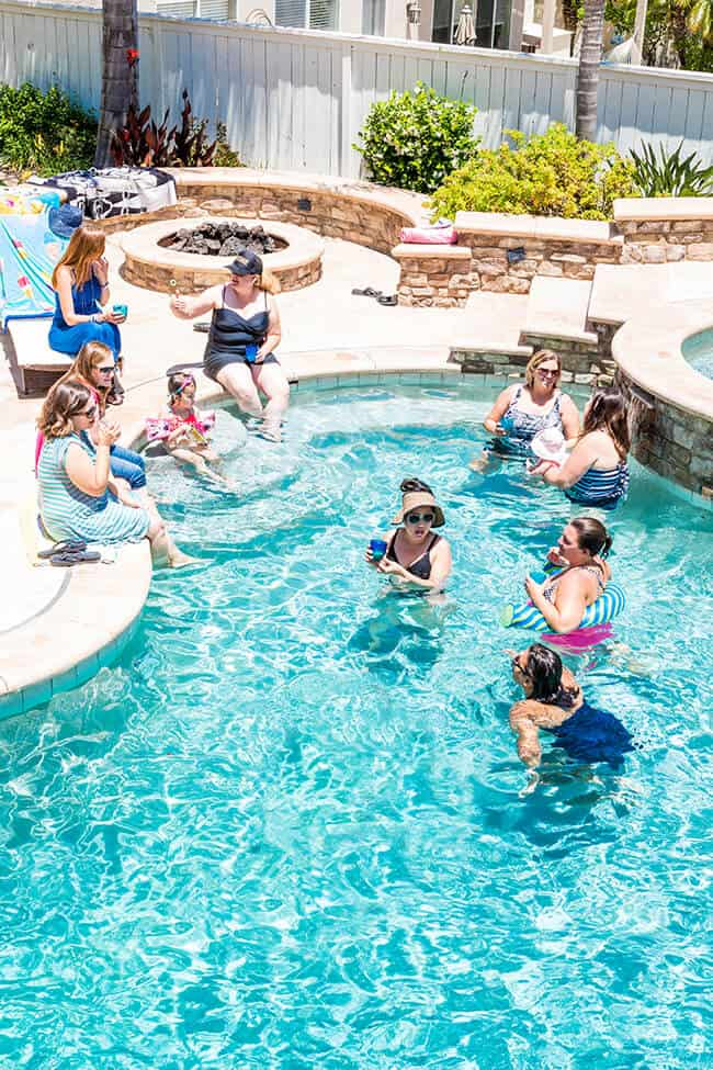 How to Throw a Moms Only Pool Party - Popsicle Blog
