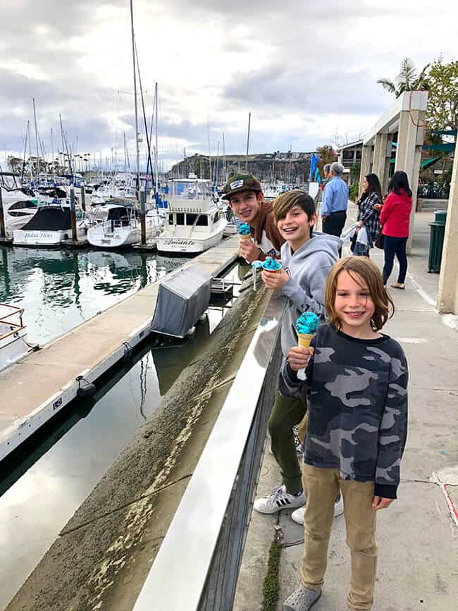 Celebrating Dad at Dana Point Harbor - Popsicle Blog