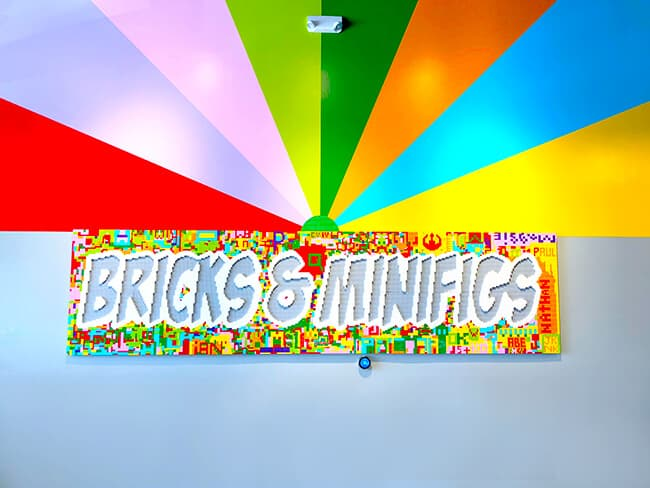 bricks minifigs is actually a change store but it is the first one located on southern california inside you will find hundreds of individual minifigs