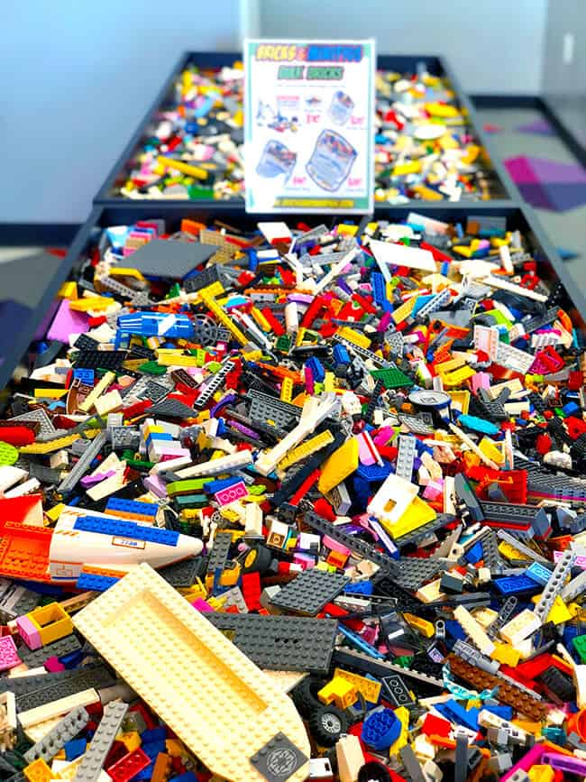 when you sell your legos to bricks minifigs they will either give you cash or store credit to buy more legos you will get more store credit than cash