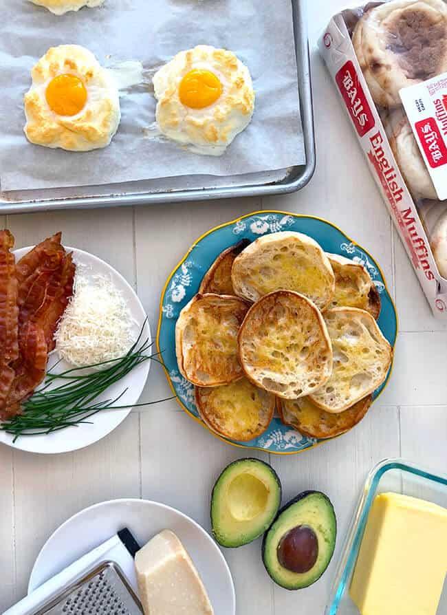 Egg Cloud English Muffins Recipe