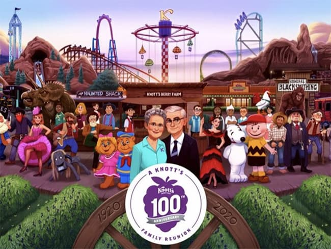 Celebrate Knott S 100th Anniversary In 2020 Popsicle Blog