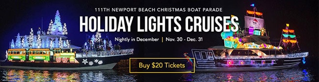 Newport Landing Holiday Light Cruise Coupon Code