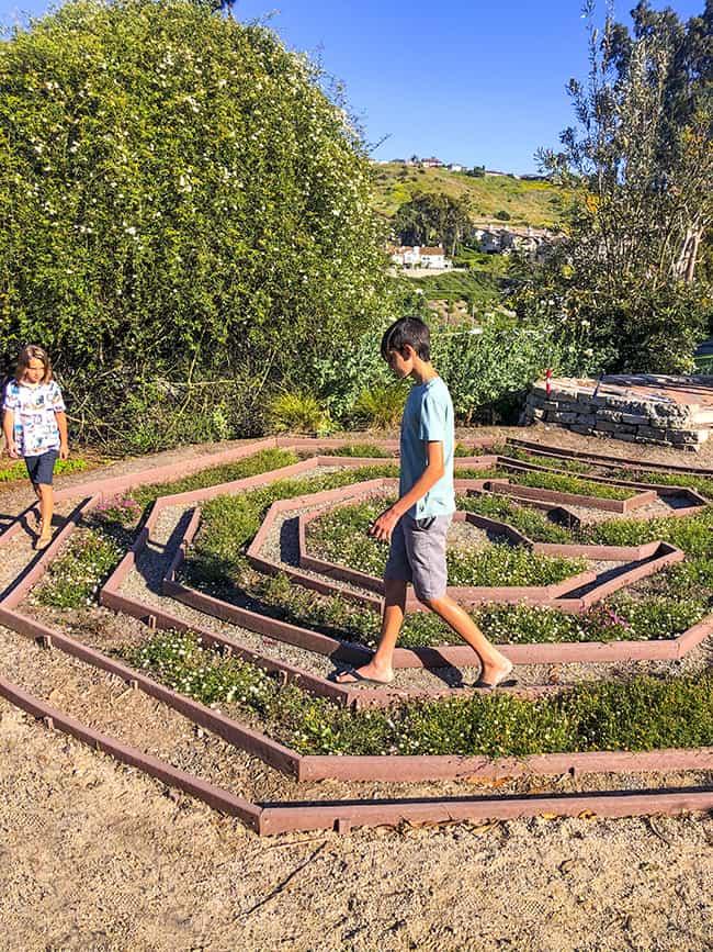 Niguel Botanical Preserve Maze