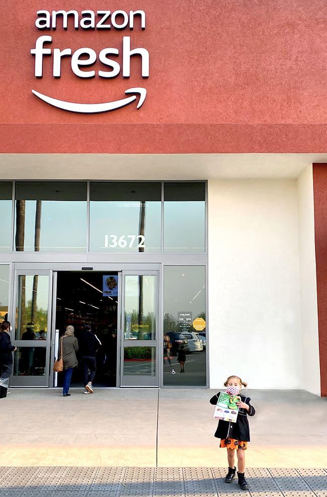 Amazon Fresh Grand Opening