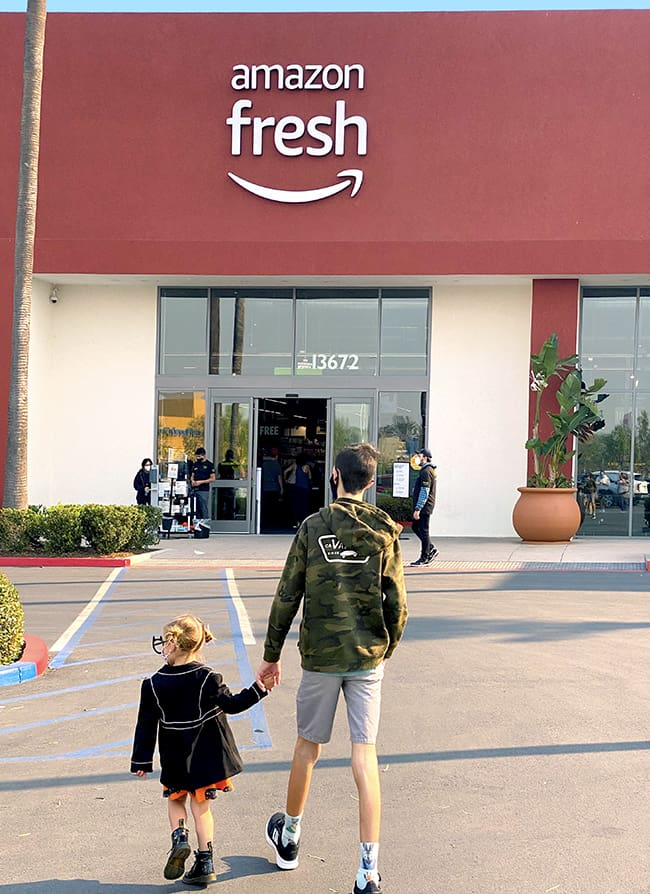 Amazon Fresh comes to Orange County, California
