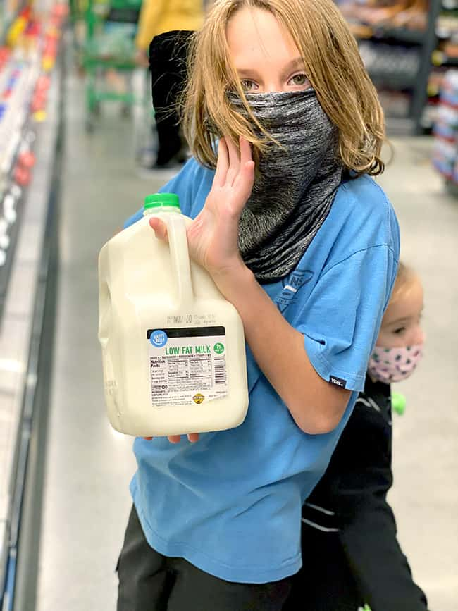 Amazon Fresh Inexpensive milk