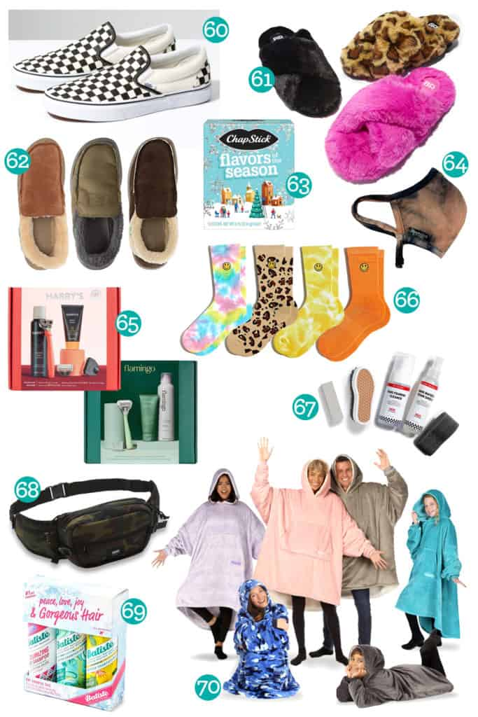 Christmas clothing gift ideas for teen girls and teen boys
