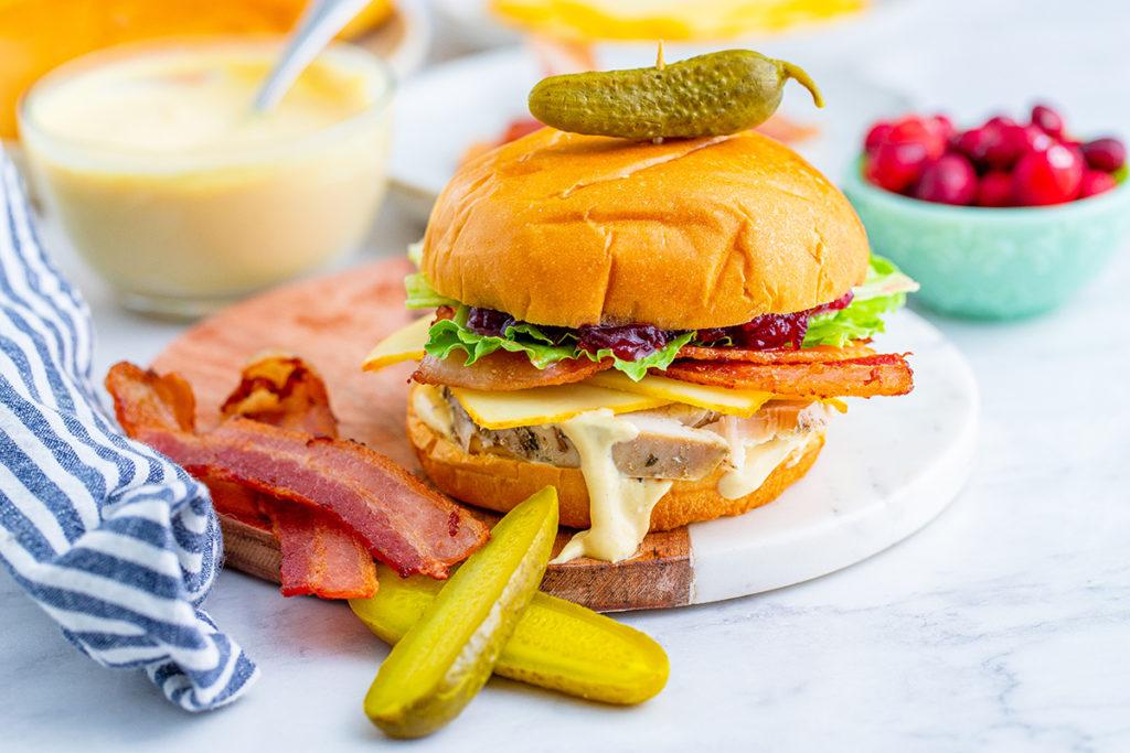 Best Thanksgiving Leftover Turkey and Cranberry Sandwich Recipe.jpg