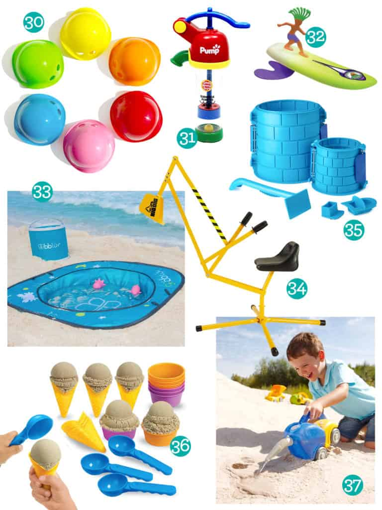 Sand and Beach Toys for Toddlers