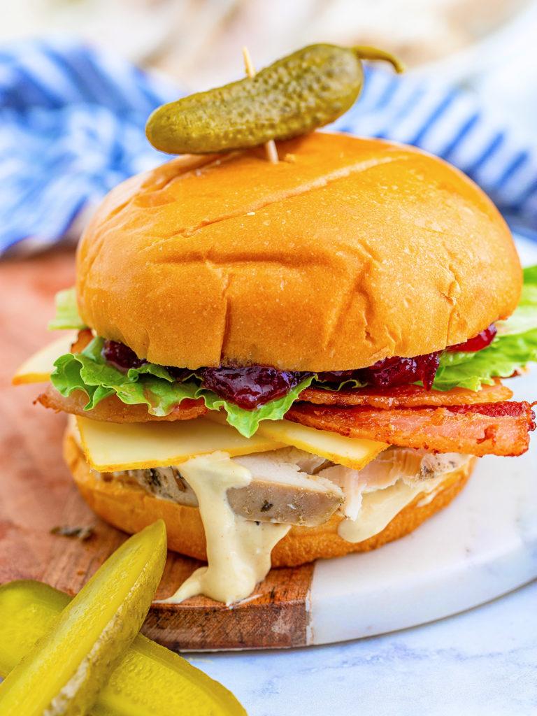 Thanksgiving Leftover Turkey Sandwich Recipe