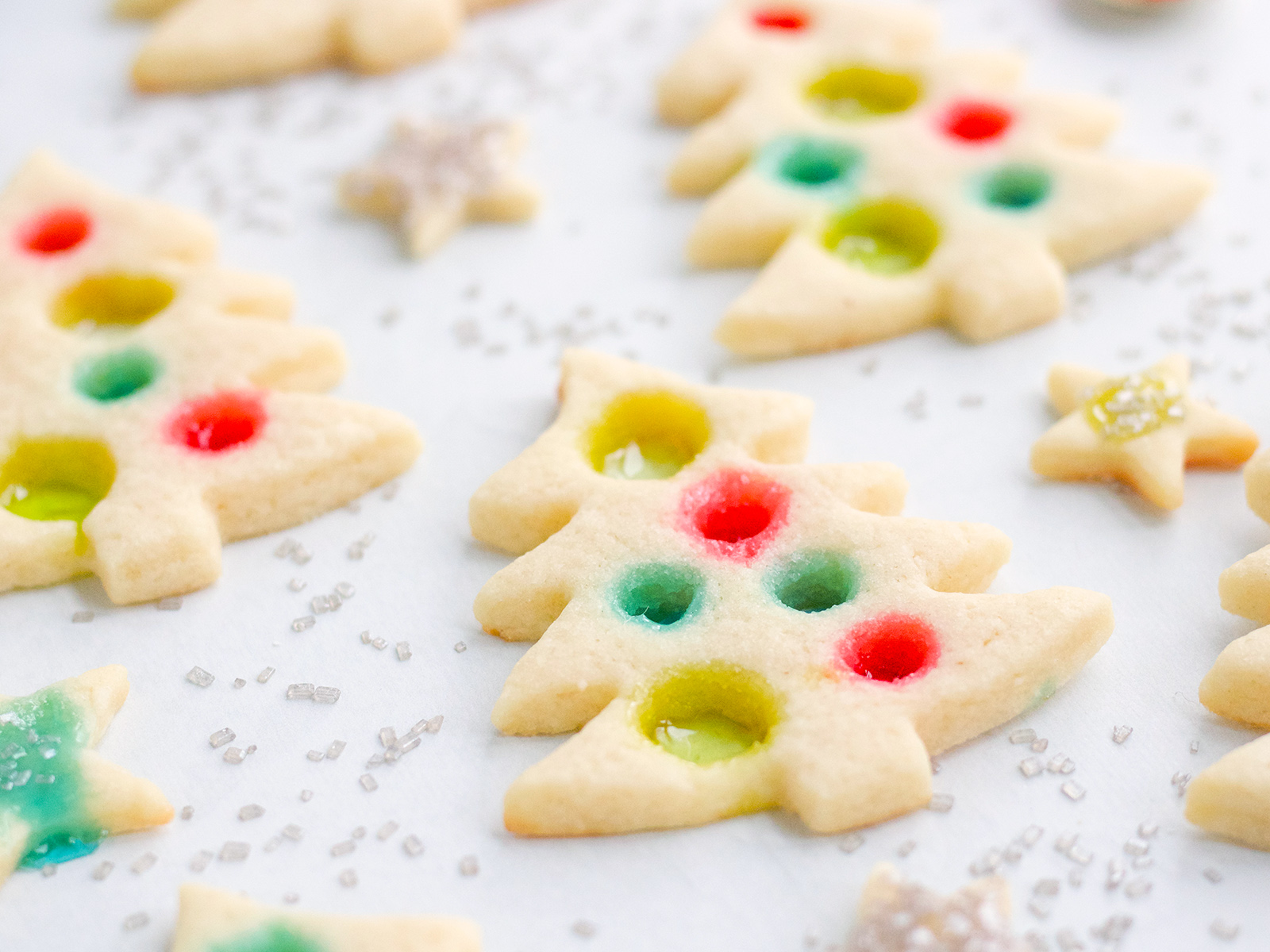 Stained Glass Christmas Cookies Recipe