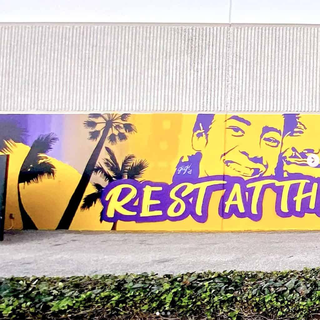 Kobe Bryant Murals in Costa Mesa