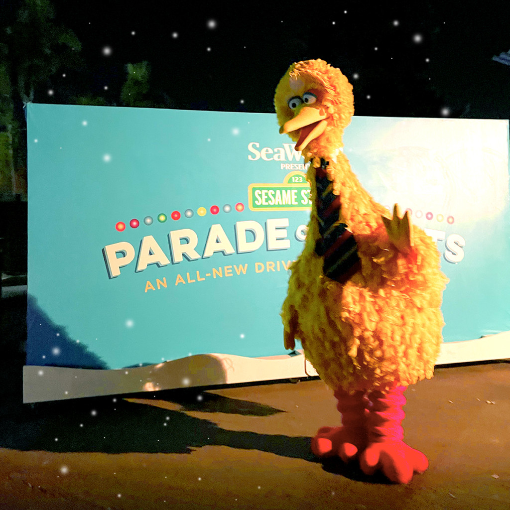Sesame Street Parade of Lights in San Diego.