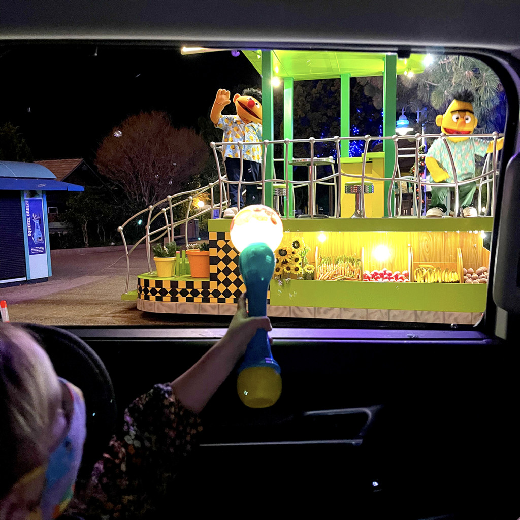 Sesame Street Parade of Lights Drive-Thru at SeaWorld