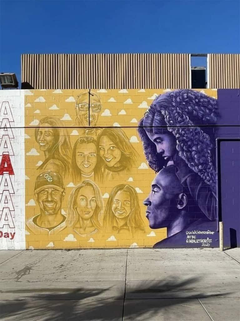Kobe Bryant Murals in Orange County
