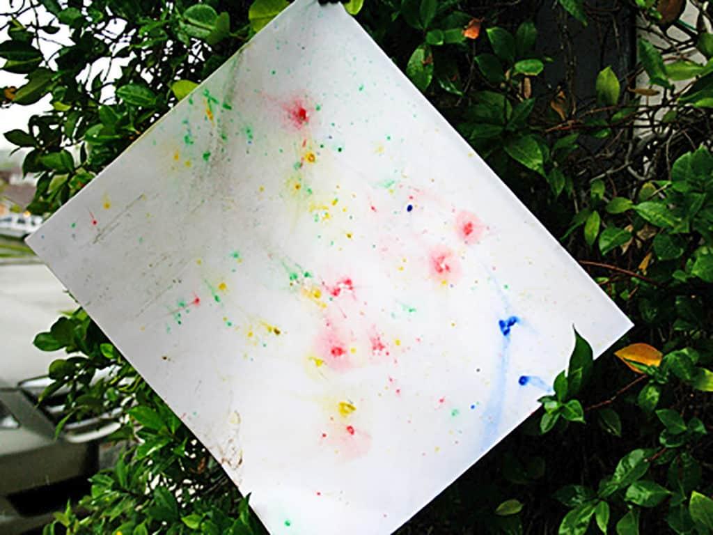 Rainy Day Art Project