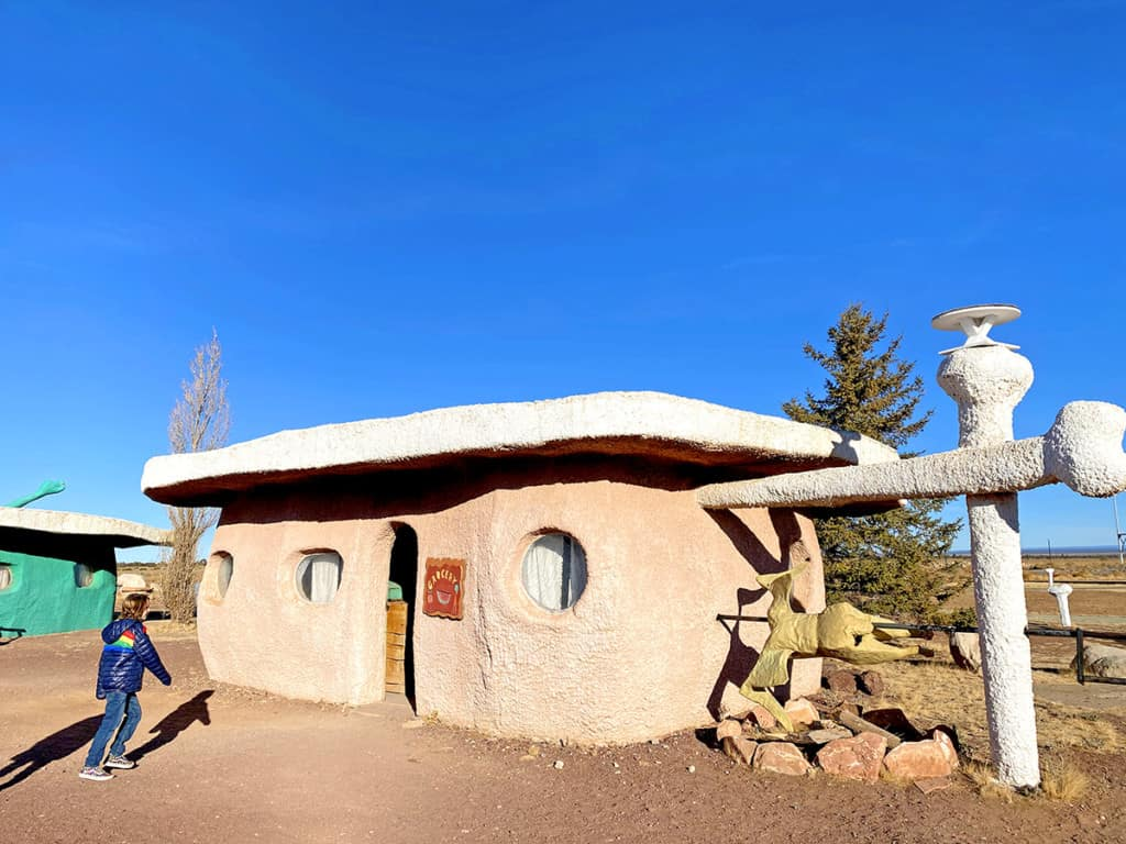 Flintstones Village in Arizona