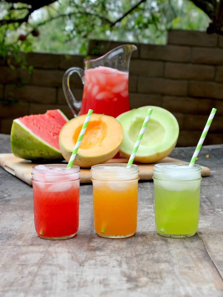 Yummy Melon Spritzers Recipe