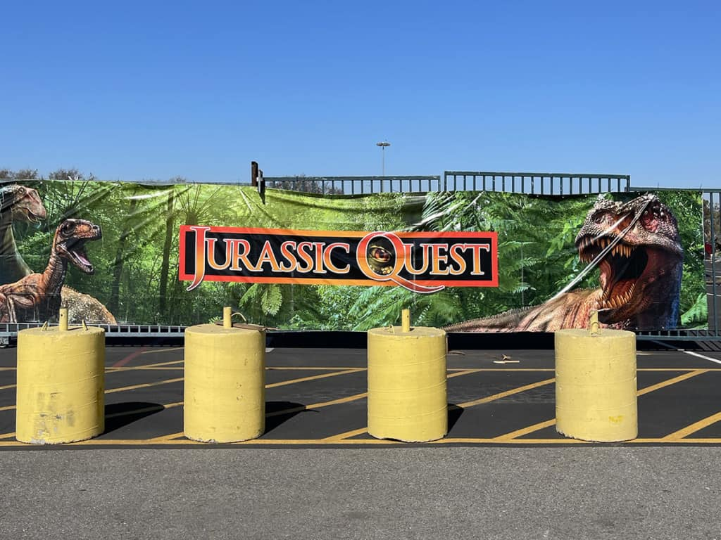 Jurassic Quest Drive Thru in Orange County